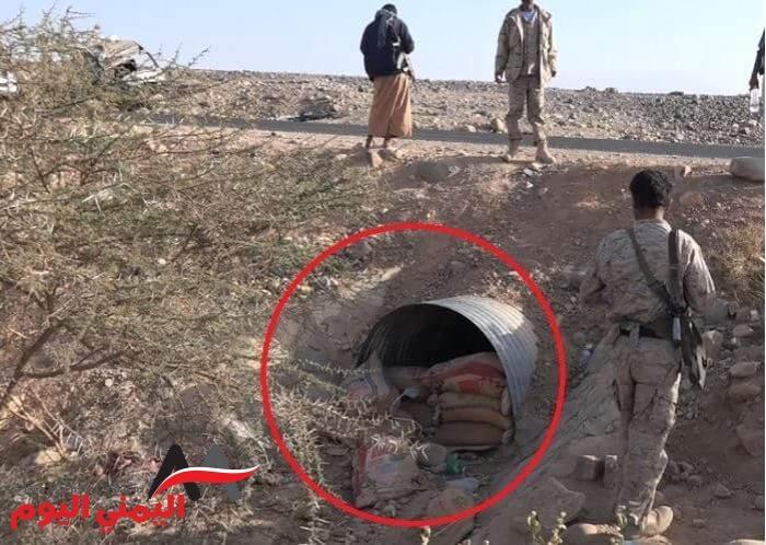 شاهد بالصور .. محاولات بائسة للمليشيات الانقلابية لأيقاف تقدم الجيش الوطني نحو صنعاء