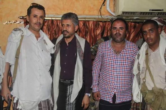 شاهد أول صورة للقائد الشيخ حمود المخلافي أثناء زيارته لمدينة عدن
