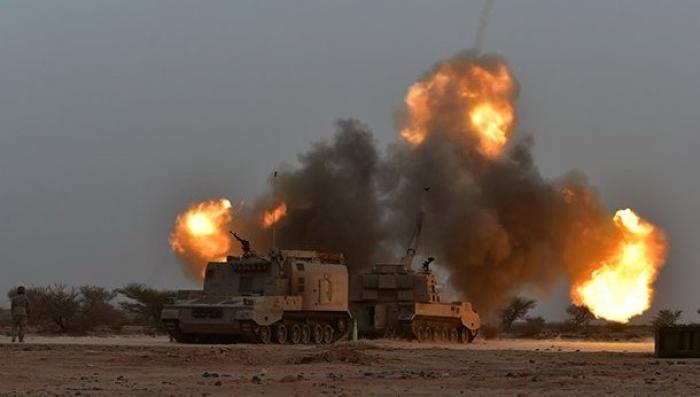 القوات العربية المشتركة والجيش السعودي يسيطران على جمارك حرض