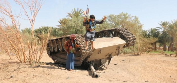 اليمن.. السيطرة على آخر مواقع الانقلابيين بصرواح وسط تقدم في الجوف