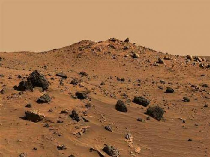 يمنيون يدعون ملكيتهم لكوكب المريخ