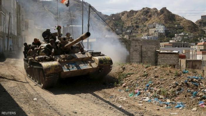 غارات للتحالف على معسكر للمتمردين شمال صنعاء