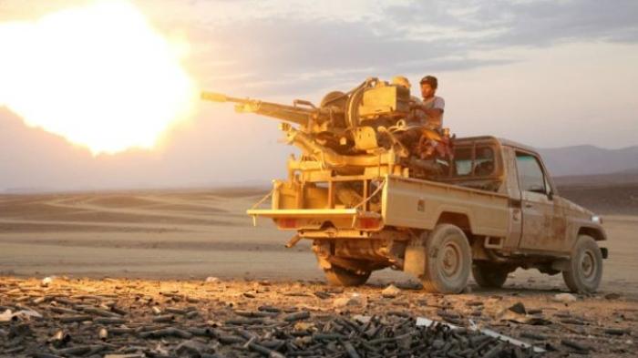 الحنق : المقاومة على بعد 20 كيلو متر من العاصمة صنعاء