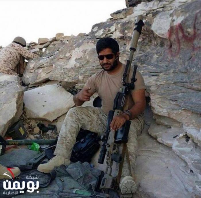تعرف على القناص السعودي الذي قتل أكثر من 900 حوثي على الحدود