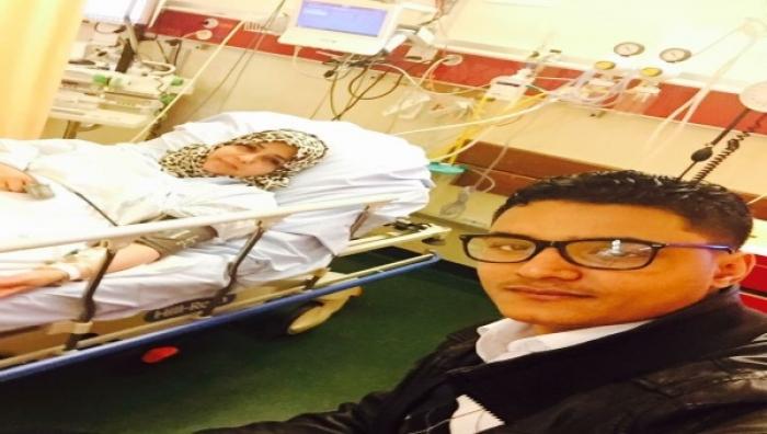 المرأة التي رمت الحوثي بحذاءها في جنيف تتعرض لأزمة قلبية