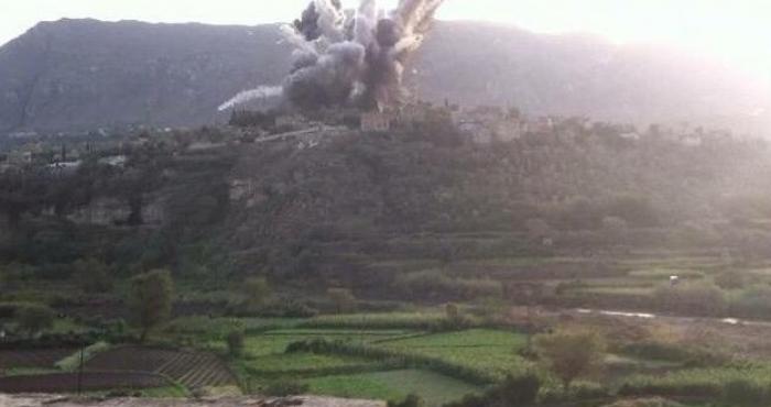 عاجل: طيران التحالف يقصف مواقع وأهداف للحوثيين بمحافظة إب (تفاصيل)