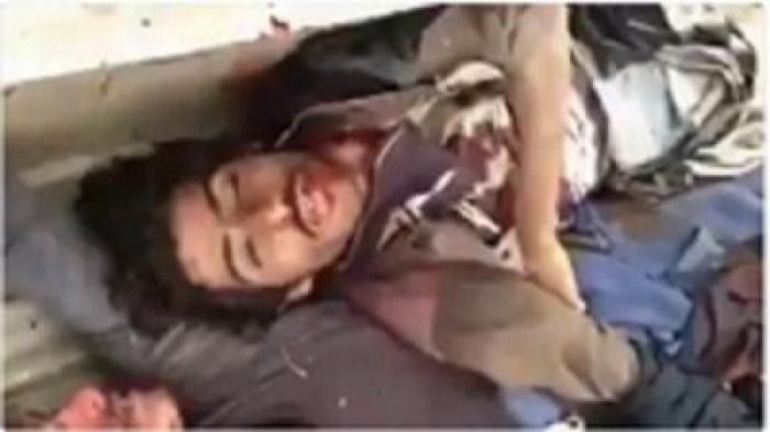 شاهد: مصرع القيادي الحوثي أبو همام قائد كتائب القوات الخاصة