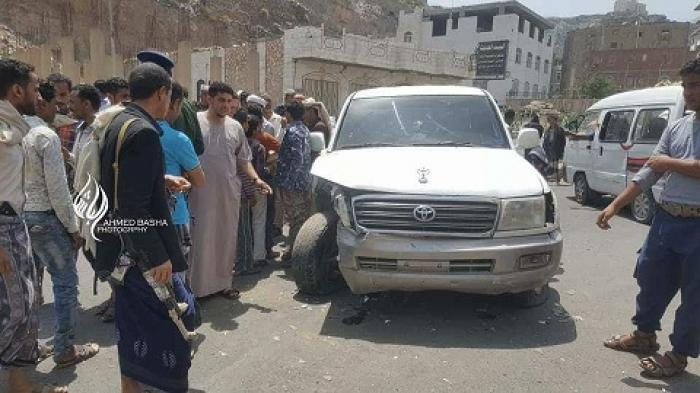 تعز.. نجاة قائد الشرطة العسكرية من محاولة اغتيال وإصابة 4 أشخاص