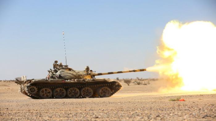 تقدم الجيش الوطني بمديرية نهم شرق صنعاء