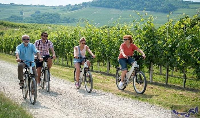 بن تيلور يكشف مزايا عطلات ركوب الدراجات
