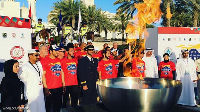 """انطلاق """"شعلة الأمل"""" للألعاب الإقليمية للأولمبياد الخاص"""
