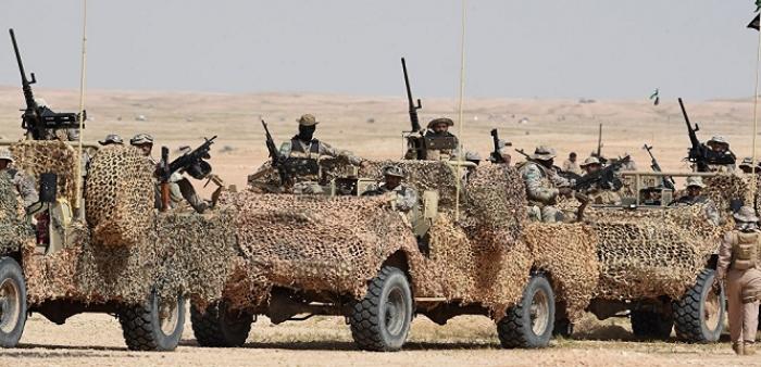 أنباء مفاجئة عن توغل لواء بري للجيش السعودي في الأراضي اليمنية