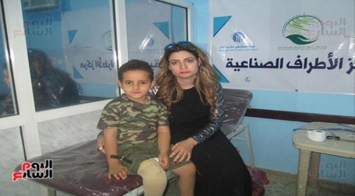 صور .. عمار ابن الـ 8 سنوات يروى قصة قصفه بالصاروخ : الصاروخ قتل أصحابى ليلة العيد ، وأمنيتى أنتقم من #الحـوثيين