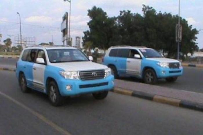 انتشار امني مكثف ومفاجئ في عدن