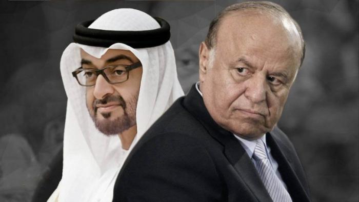 طلبات اماراتيه على طاولة الرئيس هادي .. اهمها