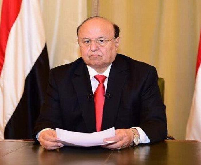 مصدر حكومي يتوقع عودة الرئيس هادي الى عدن اليوم الخميس