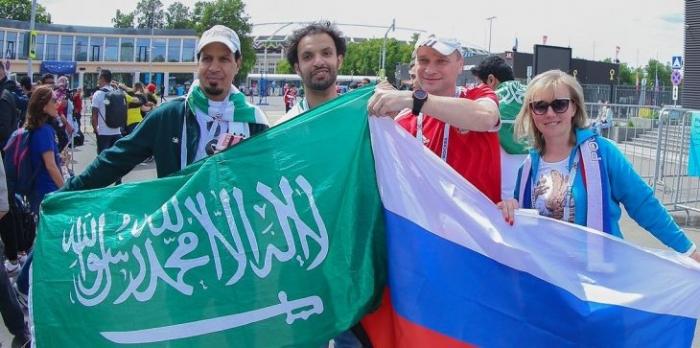 شاهد : رابط سريع وخفيف مباراة كاس العالم ( السعودية × روسيا .. الان )
