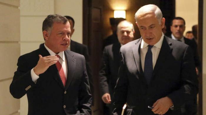 لقاء مفاجئ بين نتنياهو والملك عبد الله في عمان