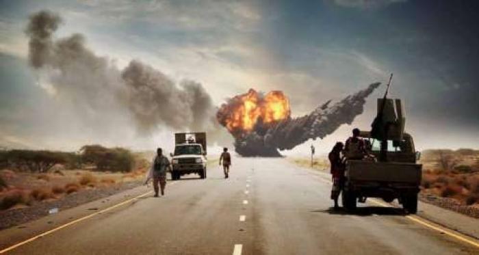 """سكاي نيوز : """"خسائر كارثية"""" للحوثيين في يوم تحرير مطار الحديدة"""