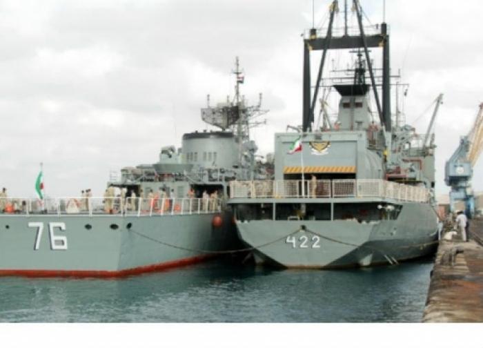 إيران ارسال سفينتين حربيتين الى خليج عدن