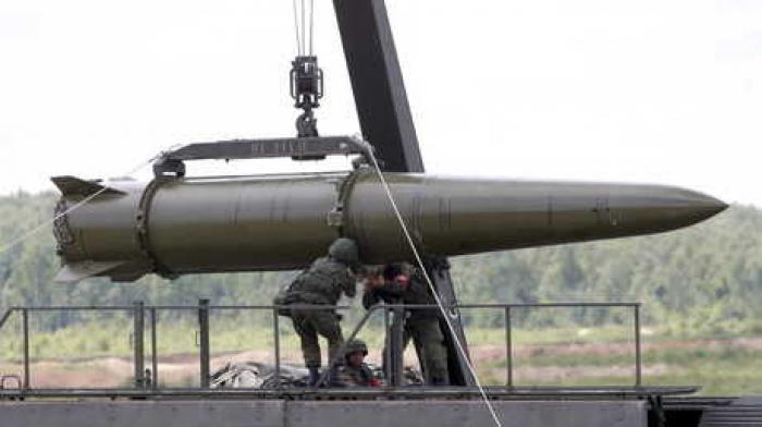 """شاهد تجربة إطلاق صاروخ """"إسكندر"""" الباليستي الروسي (بالفيديو)"""