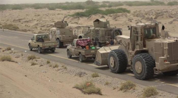 """"""" العمالقة"""" تقطع خطوط إمداد الميليشيات بين زبيد وبيت الفقيه"""