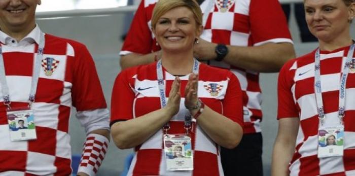 أول تعليق من رئيسة كرواتيا كوليندا كيتاروفيتش بعد تأهل منتخب بلادها لنهائي كأس العالم