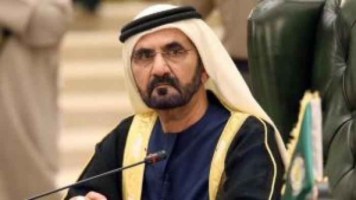 حاكم دبي يشن هجوما لاذعا على الساسة العرب