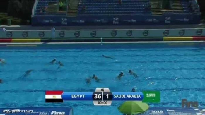 مصر تكتسح السعودية بنتيجة فلكية
