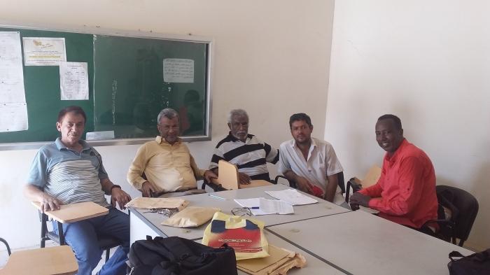 قسم التربية البدنية بجامعة عدن يبدأ مقابلة الطلبة للعام الدراسي الجديد