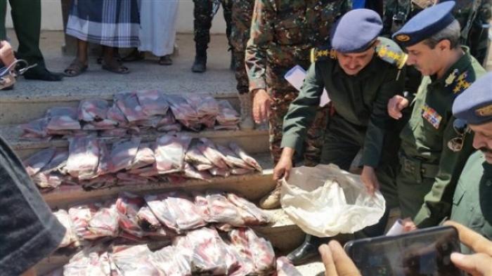 امن مأرب يضبط شحنة حشيش كانت في طريقها لميلشيات الحوثي