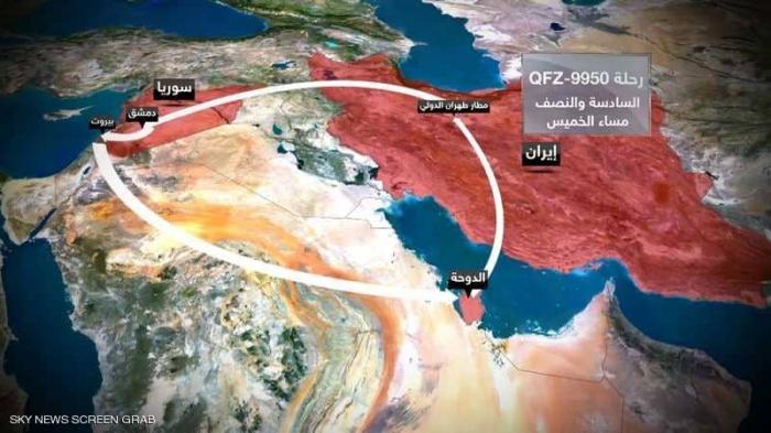طهران- الدوحة- بيروت.. الكشف عن رحلات التسليح الإيرانية
