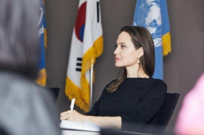 الممثلة الأميركية أنجلينا جولي تطالب بحماية اللاجئين اليمنيين في كوريا الجنوبية