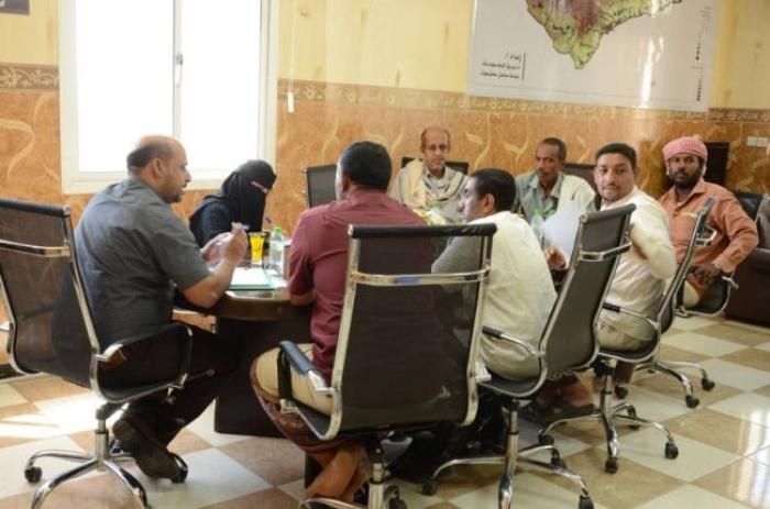 صحة الارياف بالمكلا تلتقي مدير عام مكتب الصحة بساحل حضرموت
