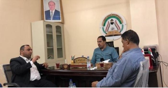 معالي وزير الشباب والرياضة يزور مكتب الاتحاد العام بالخرطوم.