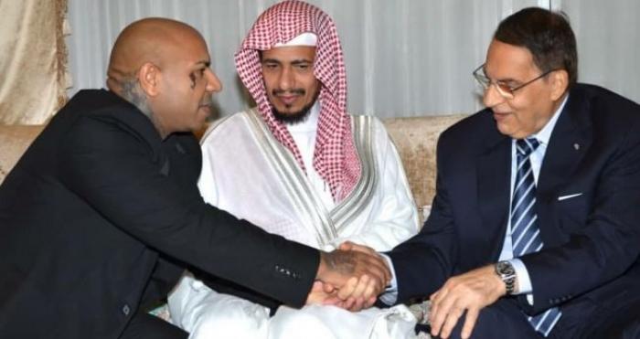 """فنان مشهور يعقد قرانه على إبنة هذا الرئيس في السعودية .. """"صور"""""""