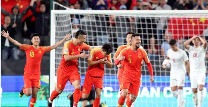الصين وكوريا في دور الستة عشر لكأس آسيا
