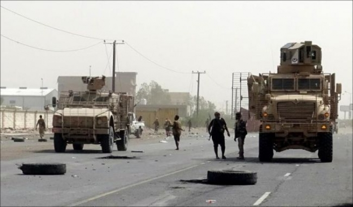 استشهاد قائد كبير في قوات العمالقة الجنوبية اثناء تصديه لهجوم شنته عصابات الحوثي على مزارع الفازة بالحديدة